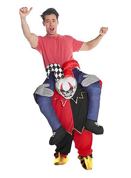 Déguisement Carry Me clown terrifiant