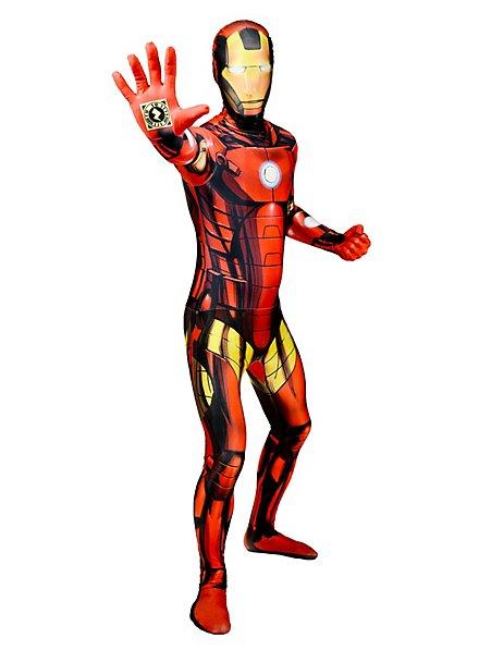 Déguisement combinaison Iron Man Digital Morphsuit