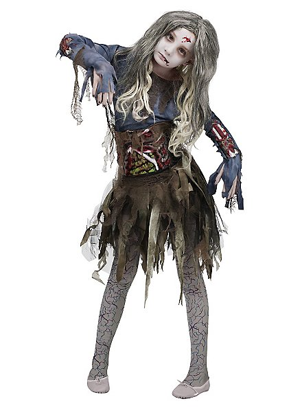 Déguisement de ballerine zombie pour enfant