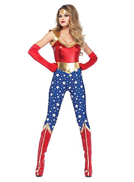 Déguisement de Captain Wondergirl