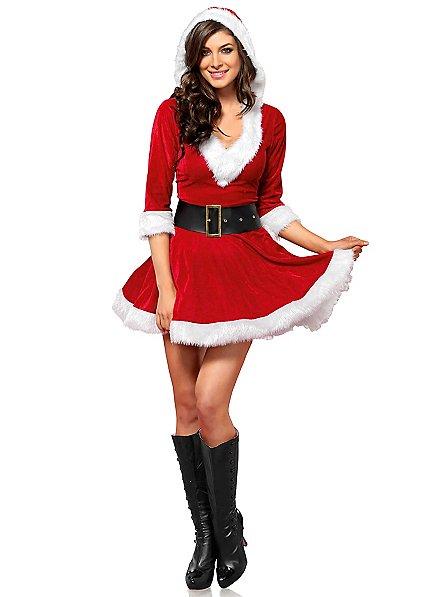 Déguisement de fille du père Noël