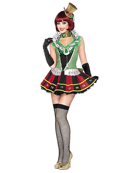 Déguisement de Miss casino sexy