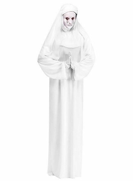 Déguisement de nonne blanche