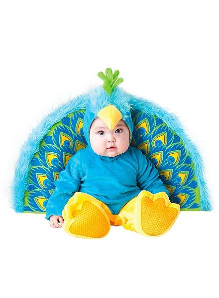 Déguisement de paon pour bébé