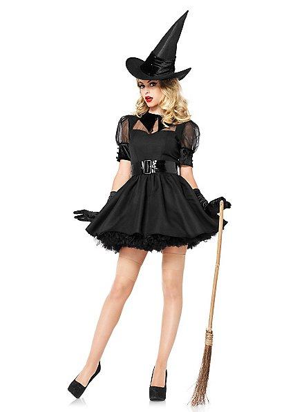 Déguisement de sorcière sexy noir