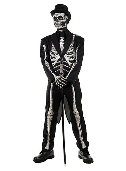 Déguisement de squelette dandy