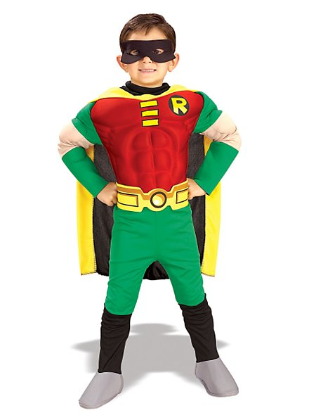 Deluxe Muscle Chest Robin Child Costume
