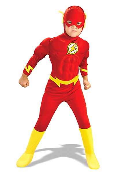 Deluxe Muscle Chest The Flash Child Costume