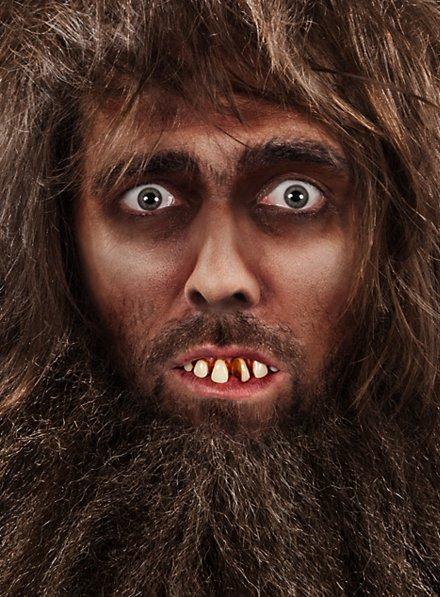 Dents d'homme des cavernes