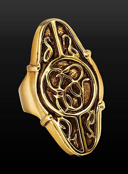 Der Hobbit Elronds Ring gold