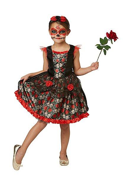 Dia de los Muertos Kleid für Mädchen