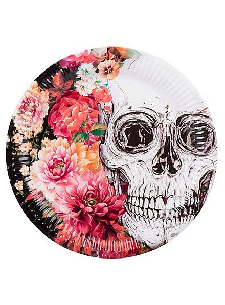 Dia de los Muertos Pappteller 6 Stück