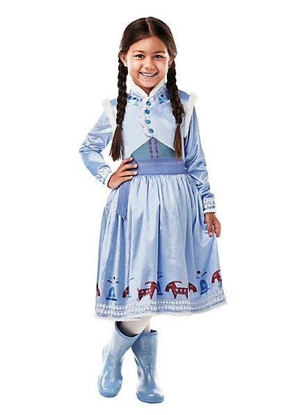 Die Eiskönigin Anna Weihnachtskleid Kinderkostüm