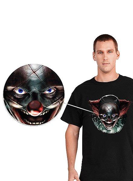 Digital Dudz Freaky Clown Eyes T-Shirt