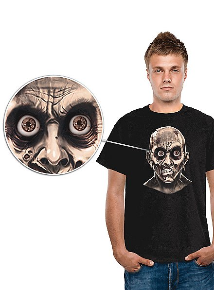Digital Dudz Zombie Auge T-Shirt
