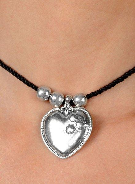 Dirndl Heart Necklace