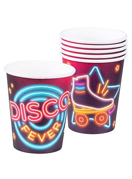 Disco Pappbecher 6 Stück