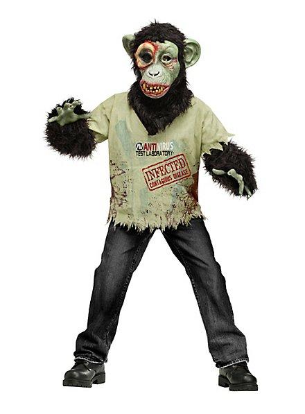 Diseased Chimp Zombie Kids Costume
