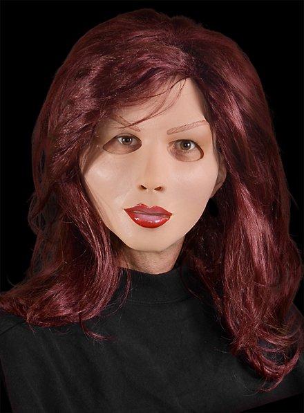 Diva mask red hair