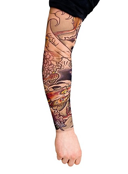 Dragon Master Tattoo Sleeve