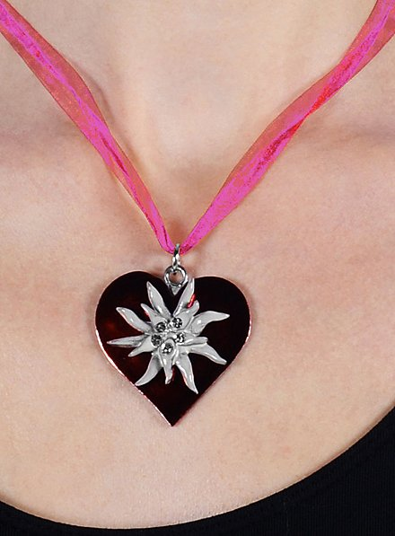 Edelweiss Necklace pink