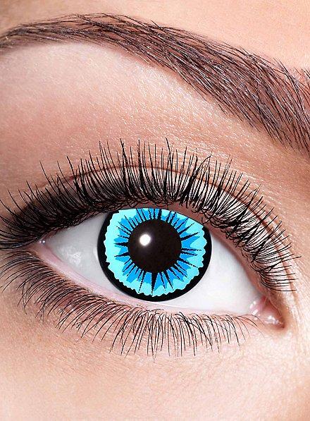 Eisprinzessin Kontaktlinse mit Dioptrien
