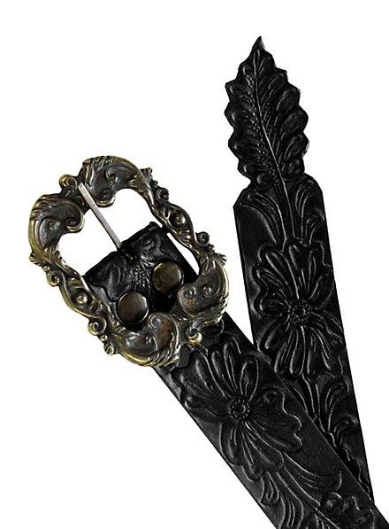 Elf Leather Belt black