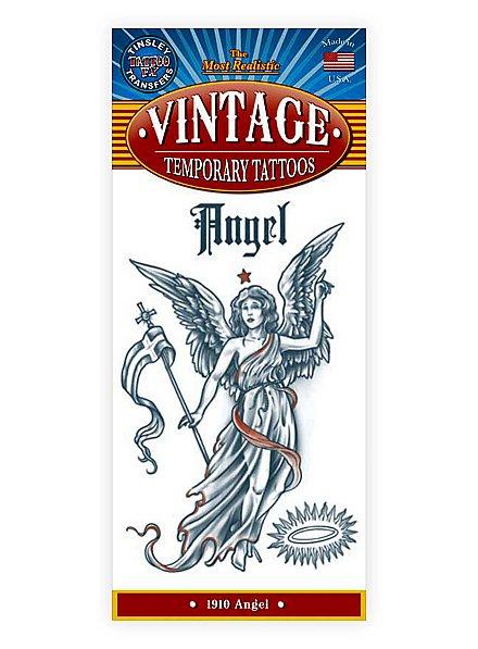 Engel Vintage Klebe-Tattoo