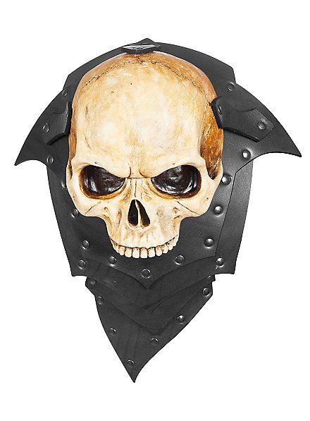 Épaulière en cuir - Seigneur des squelettes (une pièce)