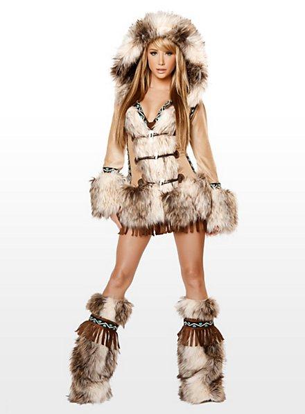 Eskimo sexy Édition haut de gamme Déguisement
