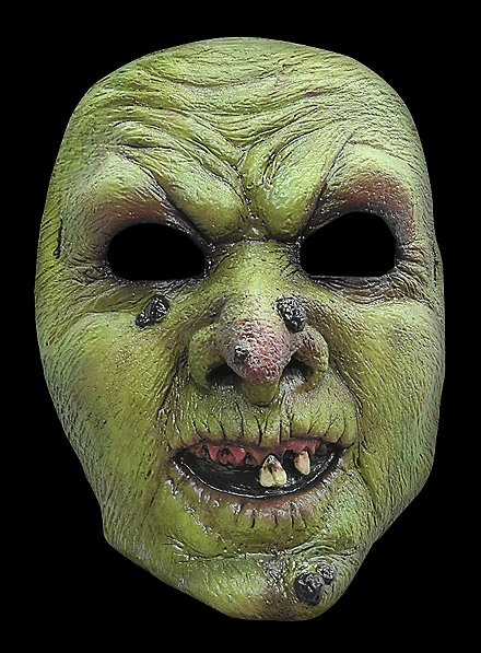 Evil Witch Horror Mask made of latex
