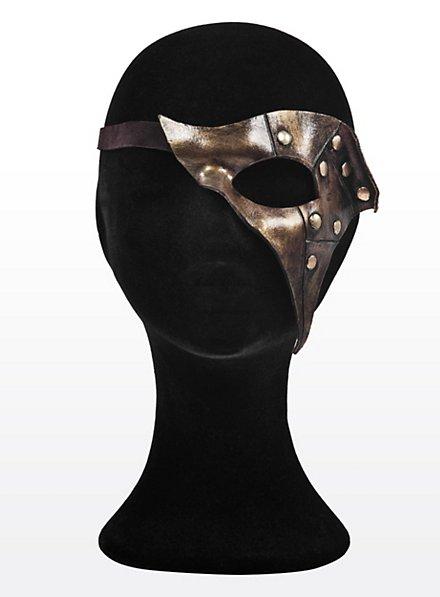 Eye Patch Fantasma brass Made of Leather