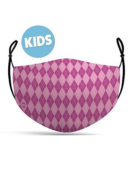 fabric mask for children magic school pink