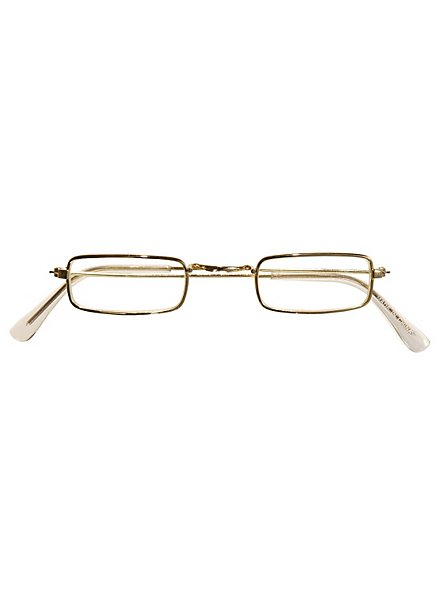 Fake Brille gold