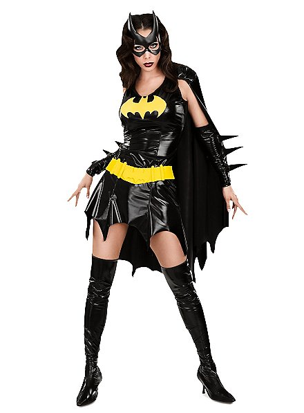 Sexy Superhero Batgirl Kostüm