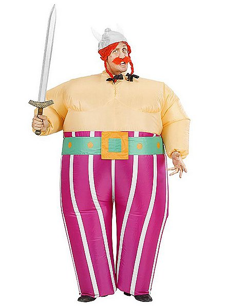 Fat Gaul inflatable costume