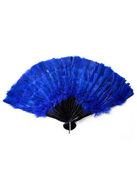 Feather Fan blue