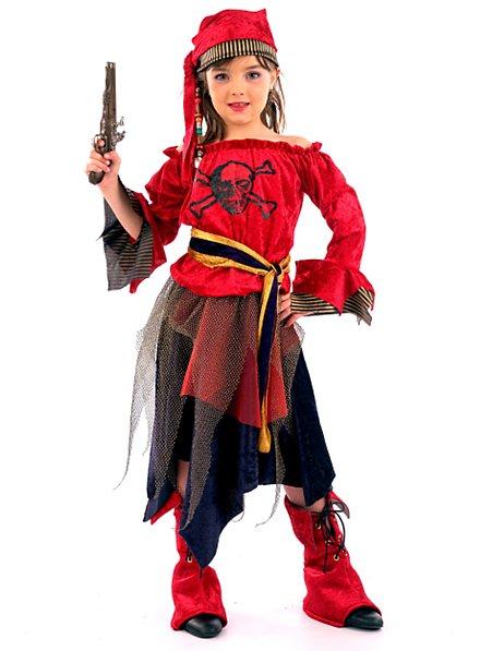 Femme pirate Déguisement Enfant