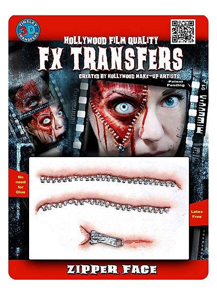 Fermeture éclair 3D FX Transfers