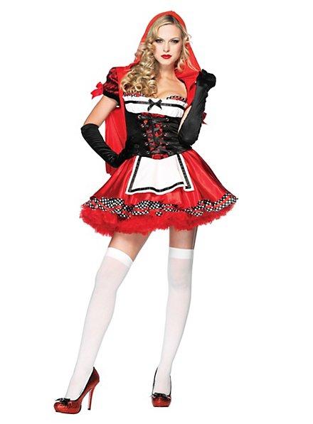 Fesches Rotkäppchen Kostüm