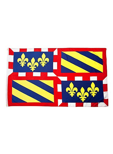 Flagge Burgund