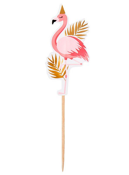Flamingo Cocktailspieße 12 Stück