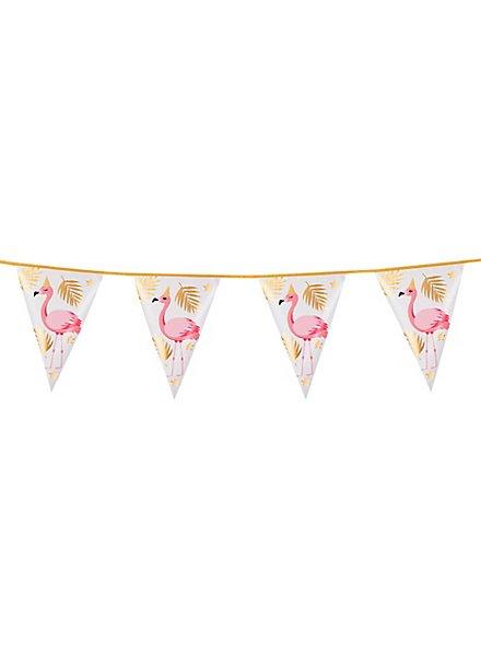 Flamingo Wimpelkette 4 Meter