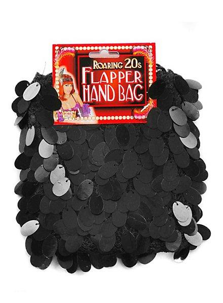 Flapper Handtasche schwarz