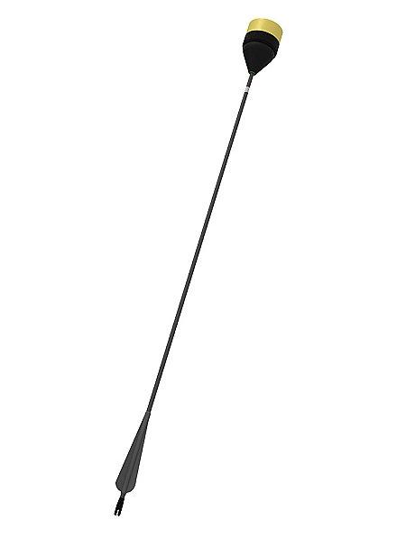 Flèche de GN à tête plate - corps noir