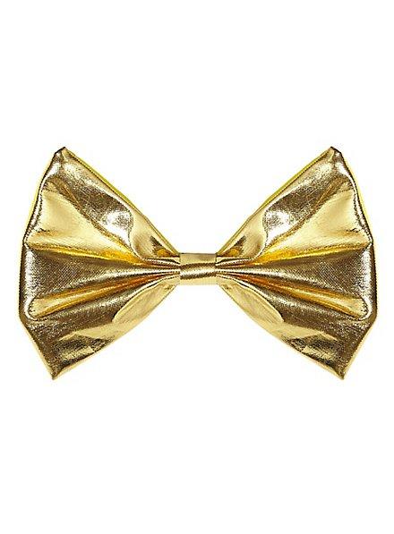 Fliege gold metallic