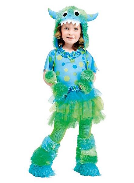 Fluff Monster green Kids Costume