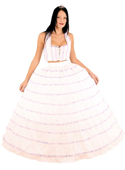 Fond de robe avec corset lacé
