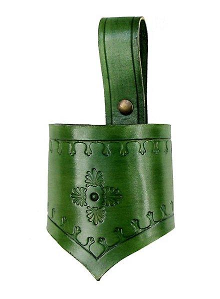 Fourreau d'épée d'habitant des bois vert