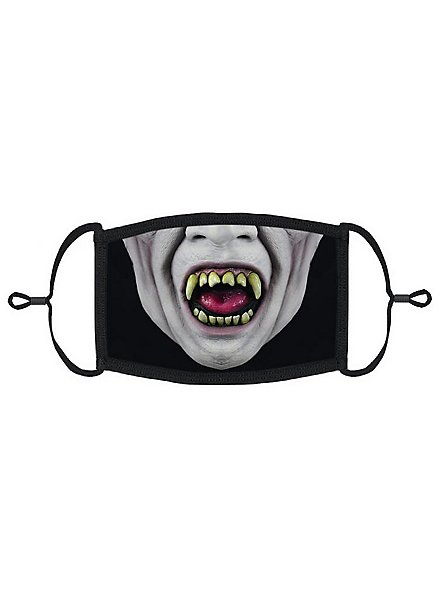 Freakshow Clown Mouth and Nose Mask